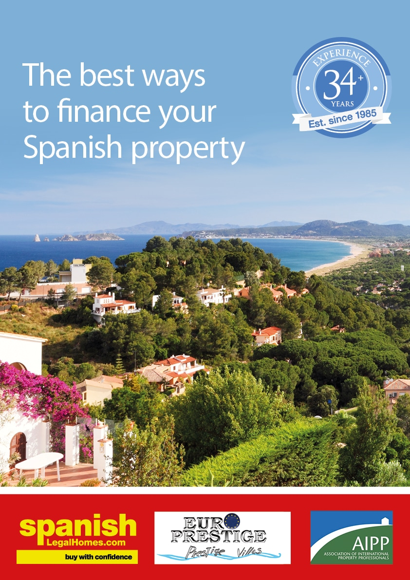 Spanish mortgage brochure