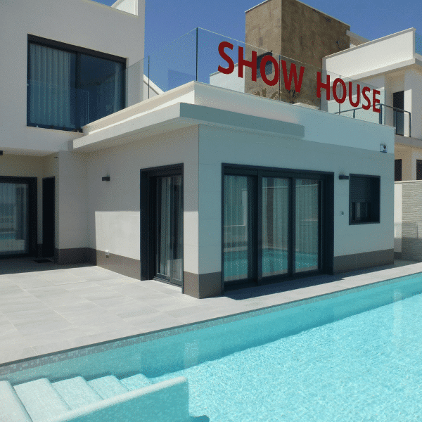 Spanish property show home